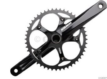 SRAM S300 GXP 170mm 48T Black Courier Crankset w/BB